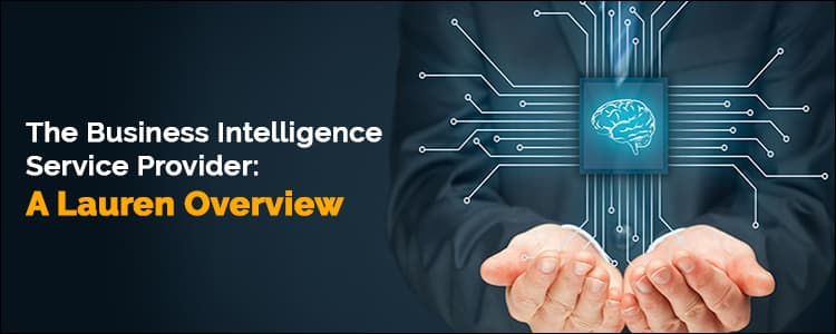The business intelligence service provider: A Lauren overview